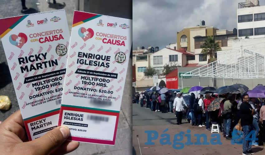 Ya no hay Boletos Para Ricky Martin y Enrique Iglesias en la Feria de Zacatecas