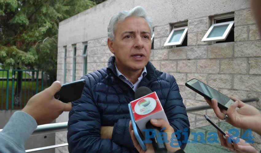 Agustín Enciso Muñoz, director del Consejo Zacatecano de Ciencia y Tecnología (Foto: Merari Martínez)