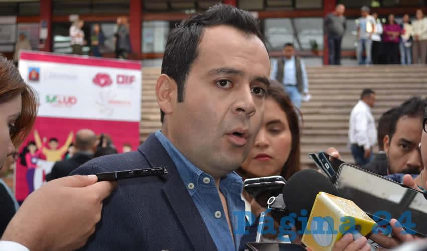 Ulises Mejía Haro, presidente municipal de Zacatecas (Foto: Merari Martínez)