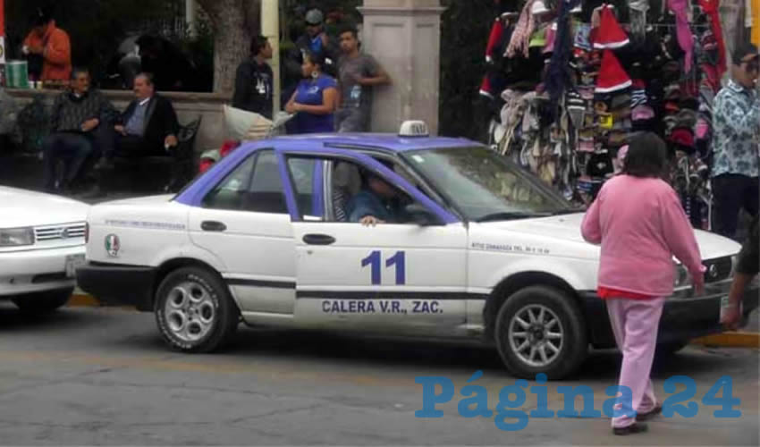 Taxistas piden mayor seguridad para el gremio