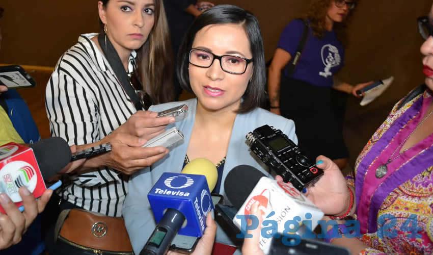María de la Luz Domínguez Campos, titular de la Comisión de Derechos Humanos del Estado (CDHEZ),