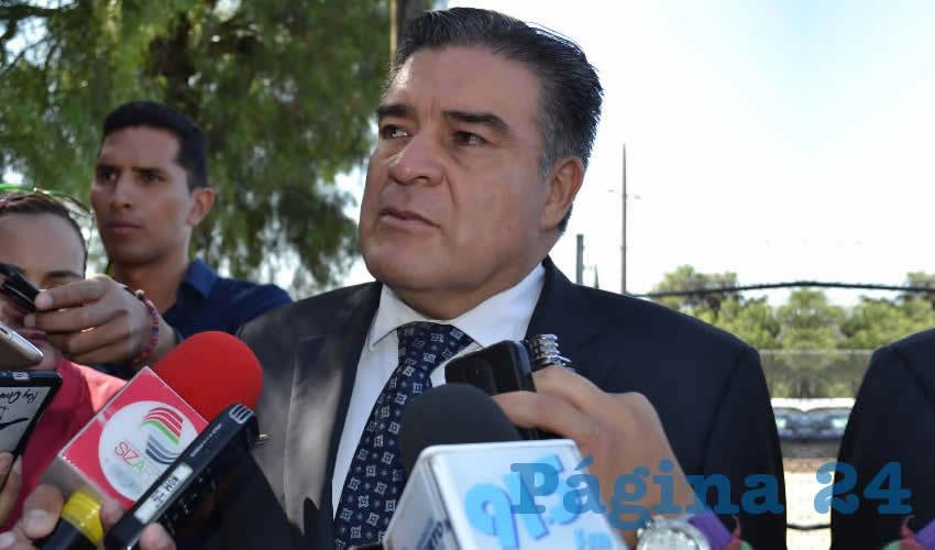 Ismael Camberos Hernández, titular de la Secretaría de Seguridad Pública (Foto: Merari Martínez)