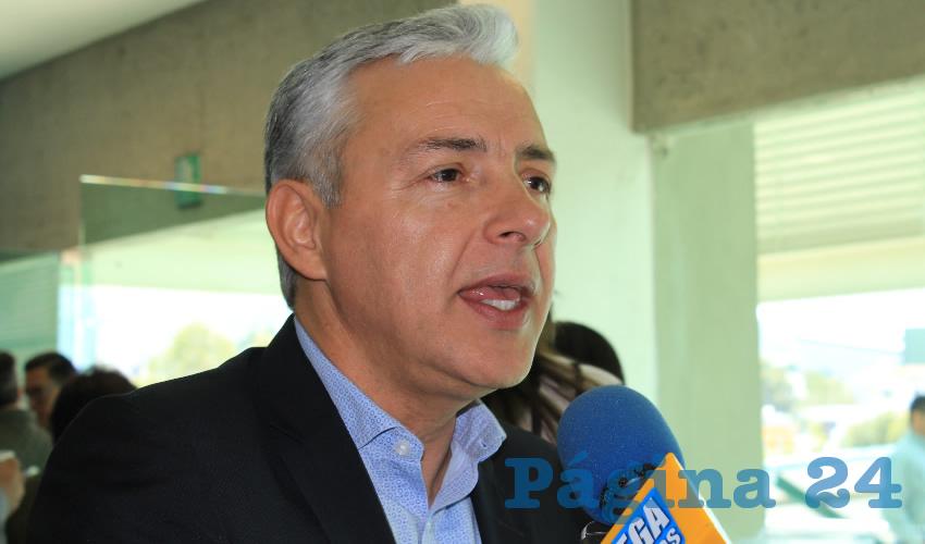 Agustín Enciso Muñoz, director del Consejo Zacatecano de Ciencia y Tecnología (Cozcyt) (Foto: Archivo Página 24)