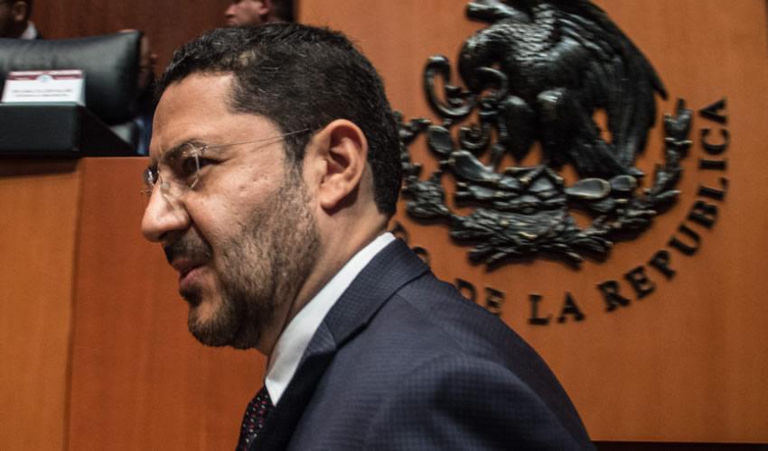 El senador Martí Batres Guadarrama, expresidente de la mesa directiva del Senado (Foto: Andrea Murcia/Archivo/Cuartoscuro)