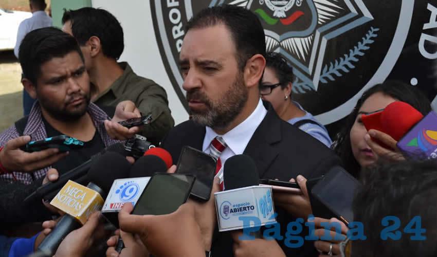 Alejandro Tello Cristerna, gobernador de Zacatecas (Foto: Merari Martínez)
