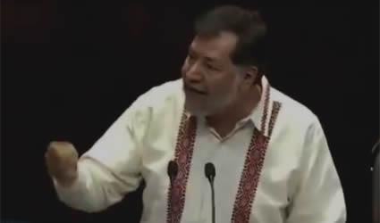 Noroña les Dice sus Verdades al PRIAN: La Gente ya no los Quiere