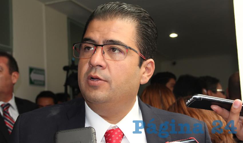 Roberto Luévano Ruíz, titular de la Secretaría de Desarrollo Social (Foto: Archivo Página 24)
