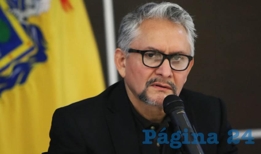 Gerardo Octavio Solís, fiscal general de Jalisco (Foto: Archivo/Página 24 Jalisco)