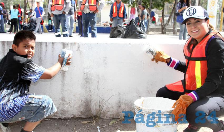 Se han realizado más de 980 jornadas en diversas colonias y comunidades donde realizan brigadas de limpieza y rehabilitación de espacios públicos