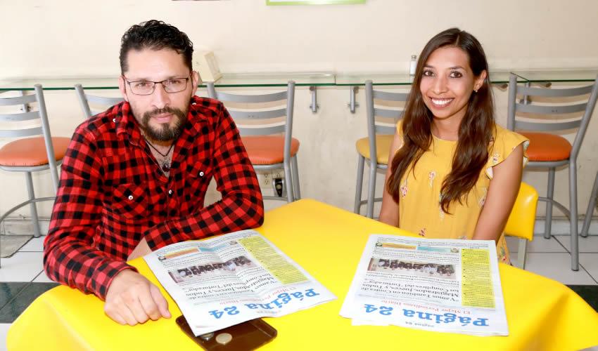 En Fuente de Sodas Mapi almorzaron David Gutiérrez Gutiérrez y Adriana Hernández Cervantes