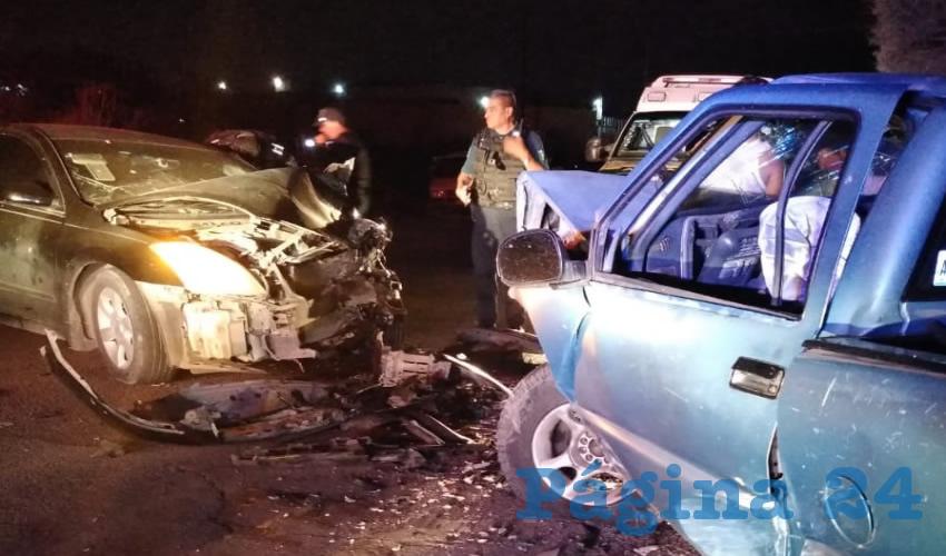 El accidente ocurrió en la carretera estatal 85, en San Francisco de los Romo
