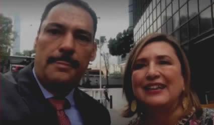Denuncia Presentada por los Senadores Xochitl Galvez y Toño Martin del Campo