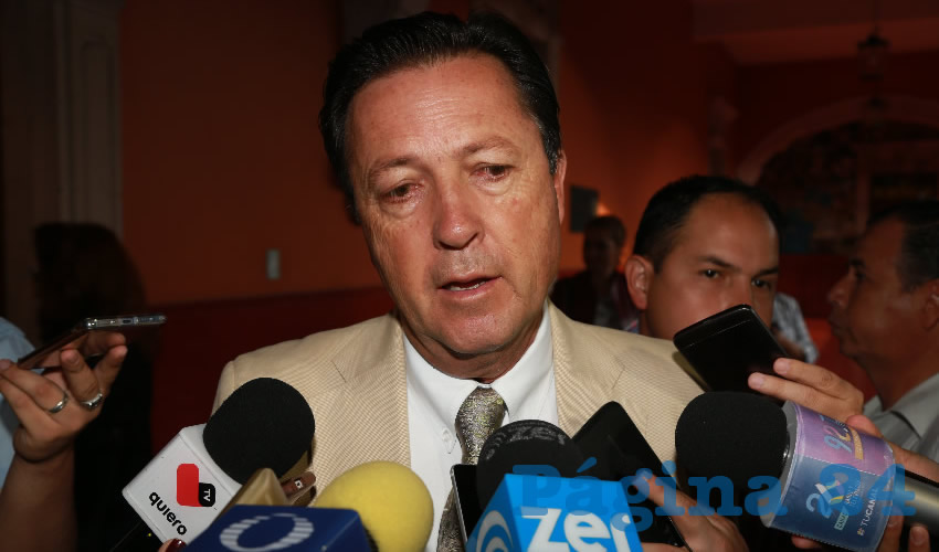 Raúl Silva Perezchica, director del IEA (Foto: Eddylberto Luévano Santillán)