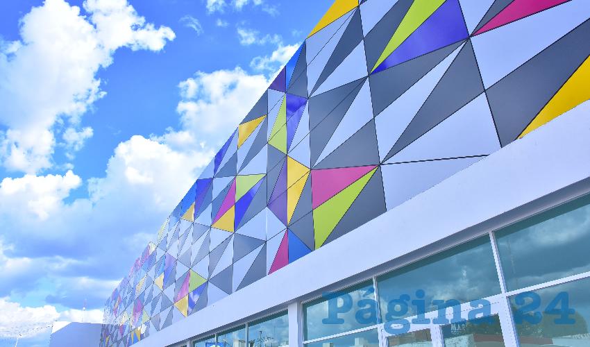La primera etapa representa una inversión de 33 millones de pesos y cuenta con diversos locales comerciales en la parte exterior y estacionamiento