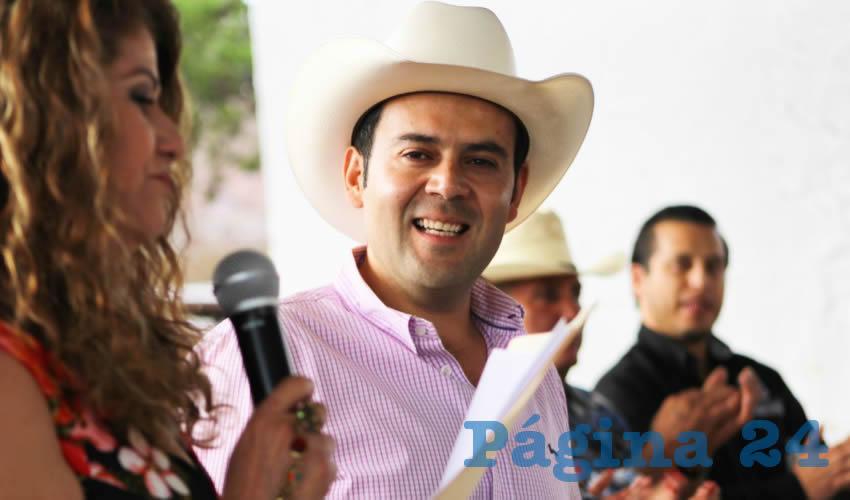 Reconoce el primer edil importancia de la actividad agropecuaria por el desarrollo de las comunidades de Zacatecas.