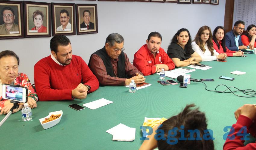 Gustavo Uribe Góngora, dirigente estatal del Partido Revolucionario Institucional (PRI) (Foto Rocío Castro Alvarado)