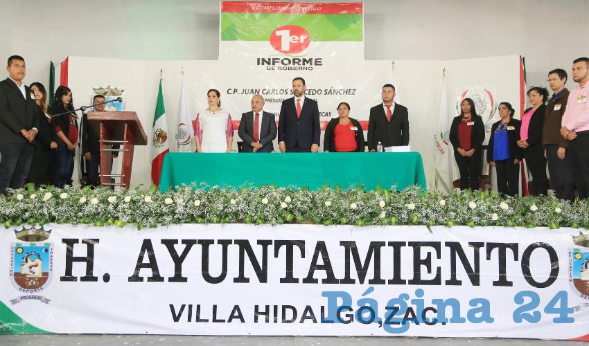 Habitantes del municipio se benefician con programas del campo y migración