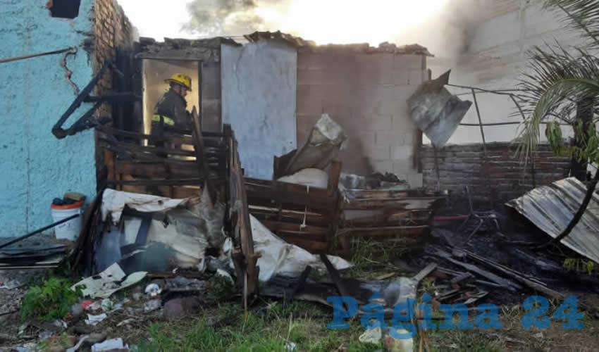 Niña Sufre Graves Quemaduras, en un Incendio en Humilde Casa