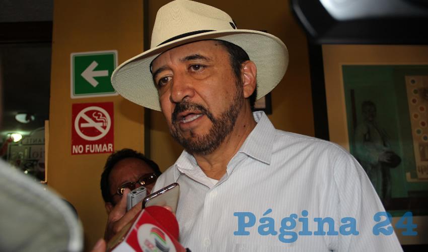 Miguel Torres Rosales, presidente municipal de Villanueva (Foto Rocío Castro)
