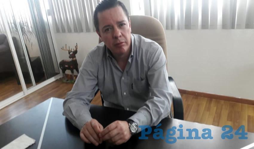 Raúl Brito Berúmen, titular de la Auditoría Superior del Estado de Zacatecas (ASE)