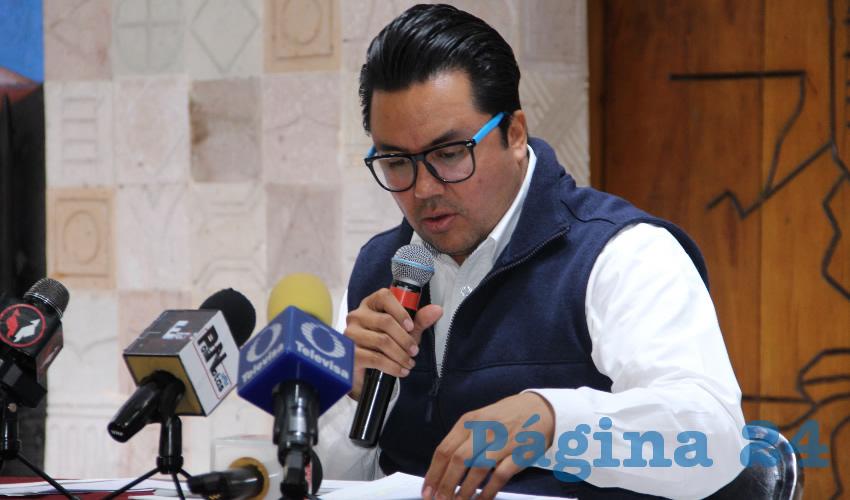 Omar Carrera Pérez, diputado local por Movimiento Regeneración Nacional (Morena) (Foto Rocío Castro Alvarado)