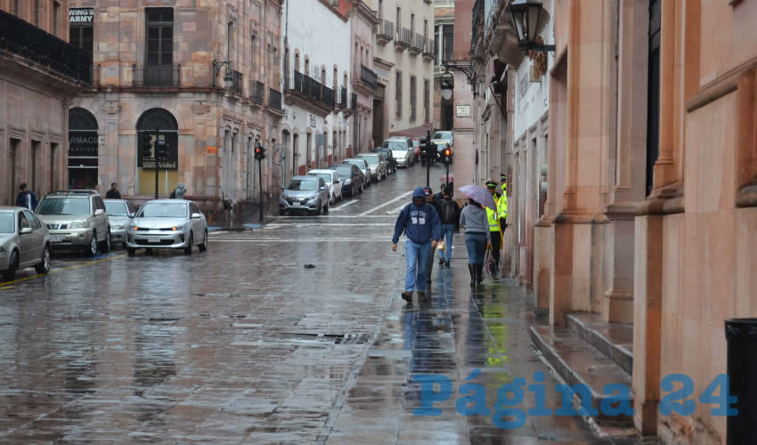 Seguirán las lluvias en la entidad (Foto Merari Martínez)