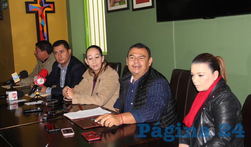 Noemí Luna Ayala, dirigente estatal del Partido Acción Nacional (PAN) (Foto Rocío Castro)