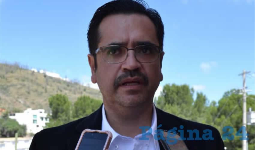 Omar Acuña Ávila, nuevo director del Sistema Estatal para el Desarrollo Integral de la Familia (SEDIF) (Foto: Merari Martínez)
