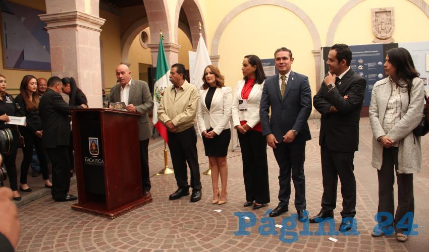 Carlos Augusto Torres Pérez, delegado estatal del Instituto Nacional de Antropología e Historia (INAH) (Foto Rocío Castro )