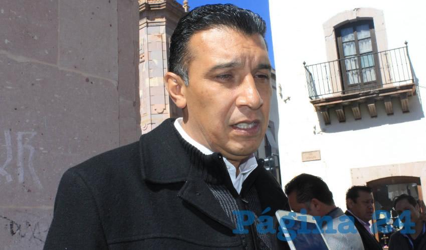 Adolfo Márquez Vera, director general del Instituto de Cultura Física y Deporte del Estado de Zacatecas (INCUFIDEZ) (Foto Rocío Castro Alvarado)