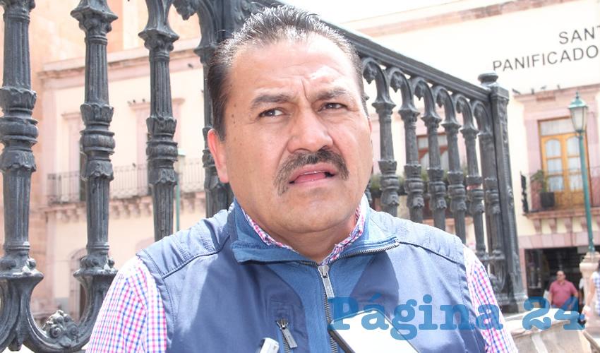 Ignacio Fraire Zúñiga, delegado local del Instituto Nacional de Migración (INM) (Foto Archivo Página 24)