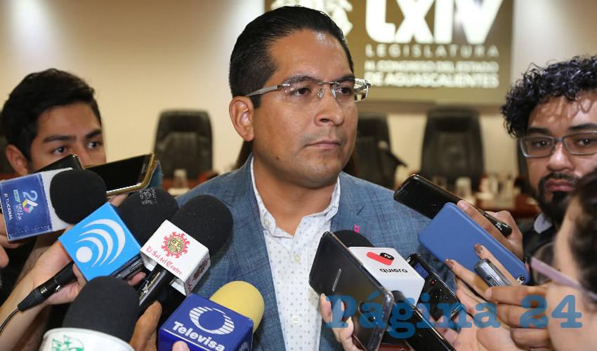 Alejandro Serrano Almanza, diputado local (Foto: Eddylberto Luévano Santillán)