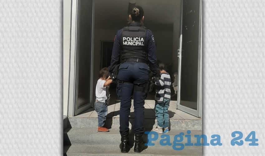 Los niños fueron llevados a la Casa DIF Aguascalientes