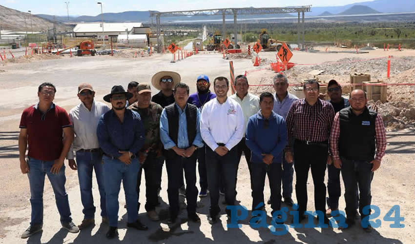 Tras negociaciones con ejidatarios de Cedros, autoridades y manifestantes acordaron liberar los accesos de la mina