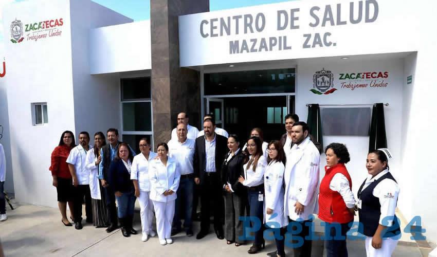 El nuevo edificio beneficiará a mil 340 habitantes del semidesierto
