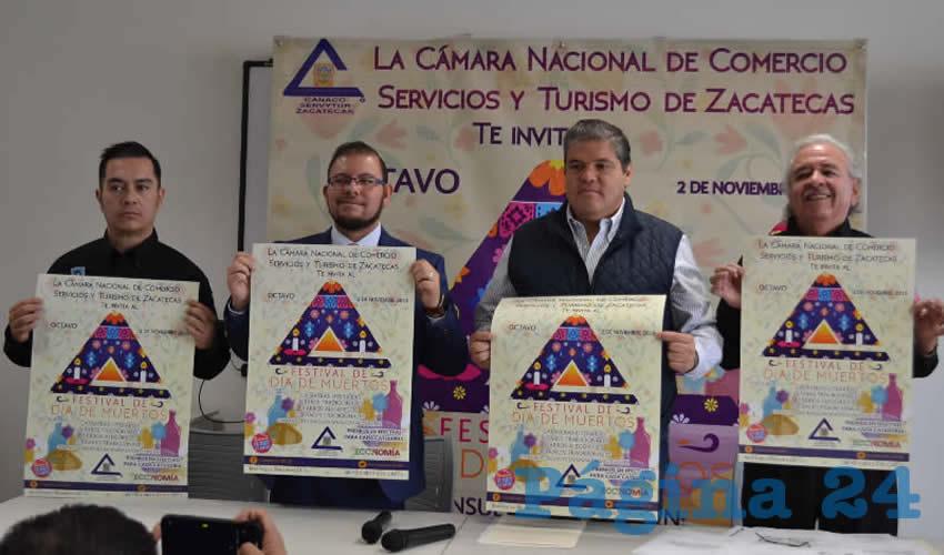 Manuel Pérez Hernández, presidente de la Cámara Nacional de Comercio de Zacatecas (Canacozac) (Foto Merari Martínez)