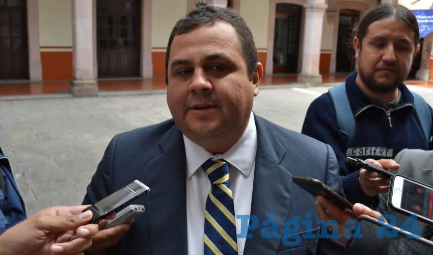 Antonio Guzmán Fernández, rector de la Benemérita Universidad Autónoma de Zacatecas (BUAZ) (Foto Merari Martínez)