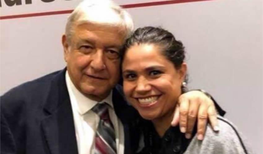 Andrés Manuel López Obrador y Catalina Monreal Pérez