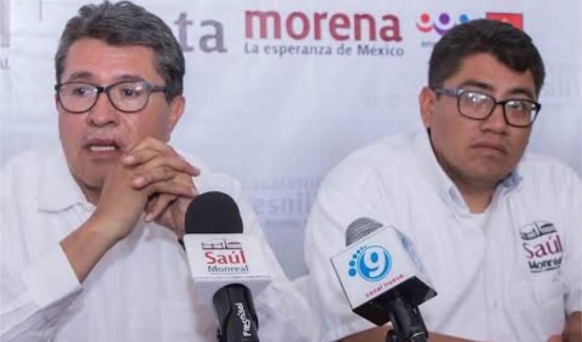 Ricardo Monreal Ávila y Saúl Monreal Ávila