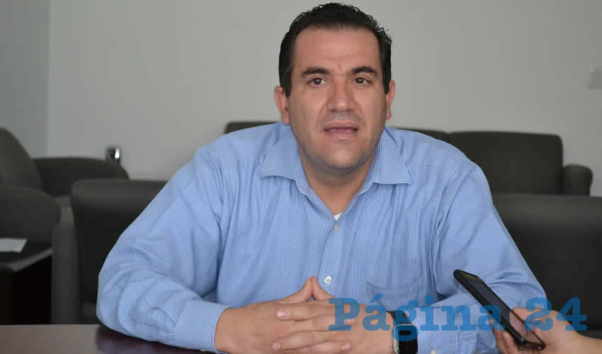 Luis Fernando Maldonado Moreno, titular de la Secretaría del Agua y Medio Ambiente (SAMA) (Foto Archivo Página 24)