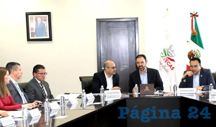 Durante la Segunda Sesión Ordinada del Consejo Estatal de Seguridad Pública, se presentaron avances en cumplimiento de objetivos