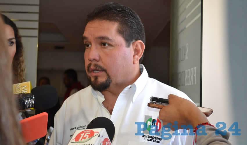 Gustavo Uribe Góngora (Foto Merari Martínez)