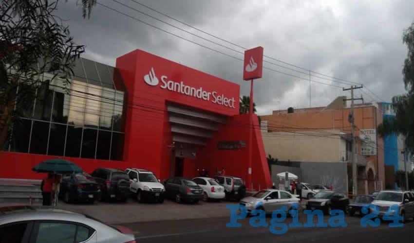 Banco Santander Rechaza que sus Cajeros Estén Ligados a Asaltos a Clientes