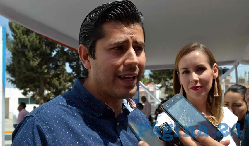 Julio César Chávez Padilla, alcalde de Guadalupe