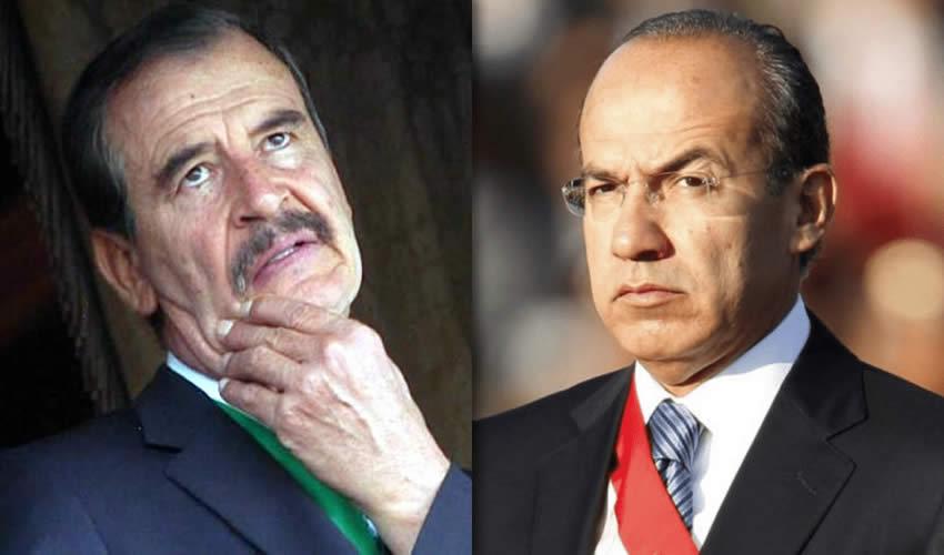 Vicente Fox Quesada y Felipe Calderón Hinojosa, enfermos de poder