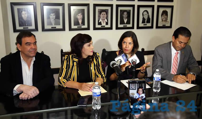 Patricia Sosa, directora de América y el Caribe Para Prevención del Tabaquismo en Niños y Jóvenes (Foto: Eddylberto Luévano Santillán)