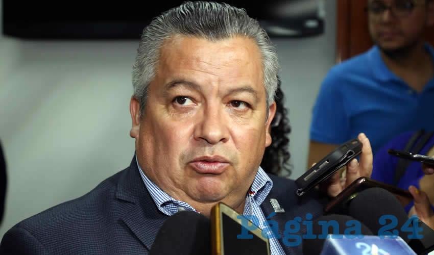 Enrique Morán Faz, secretario general de Gobierno (Eddylberto Luévano Santillan)