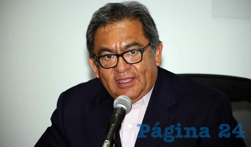 Ignacio Ruelas Olvera, consejero presidente de la Junta Local del INE (Foto: Eddylberto Luévano Santillán)