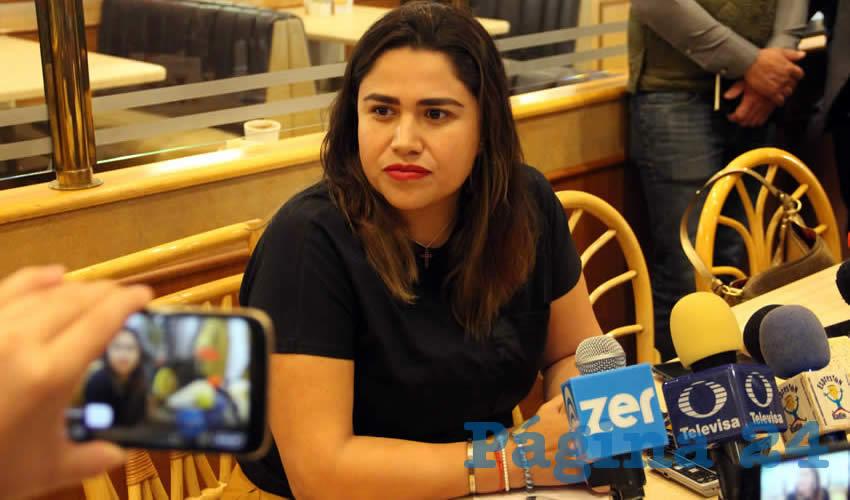 Catalina Monreal Pérez (Foto Rocío Castro)