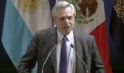 Alberto Fernández: El Primer Viento Fresco en un Tiempo en America Latina fue el Triunfo de AMLO